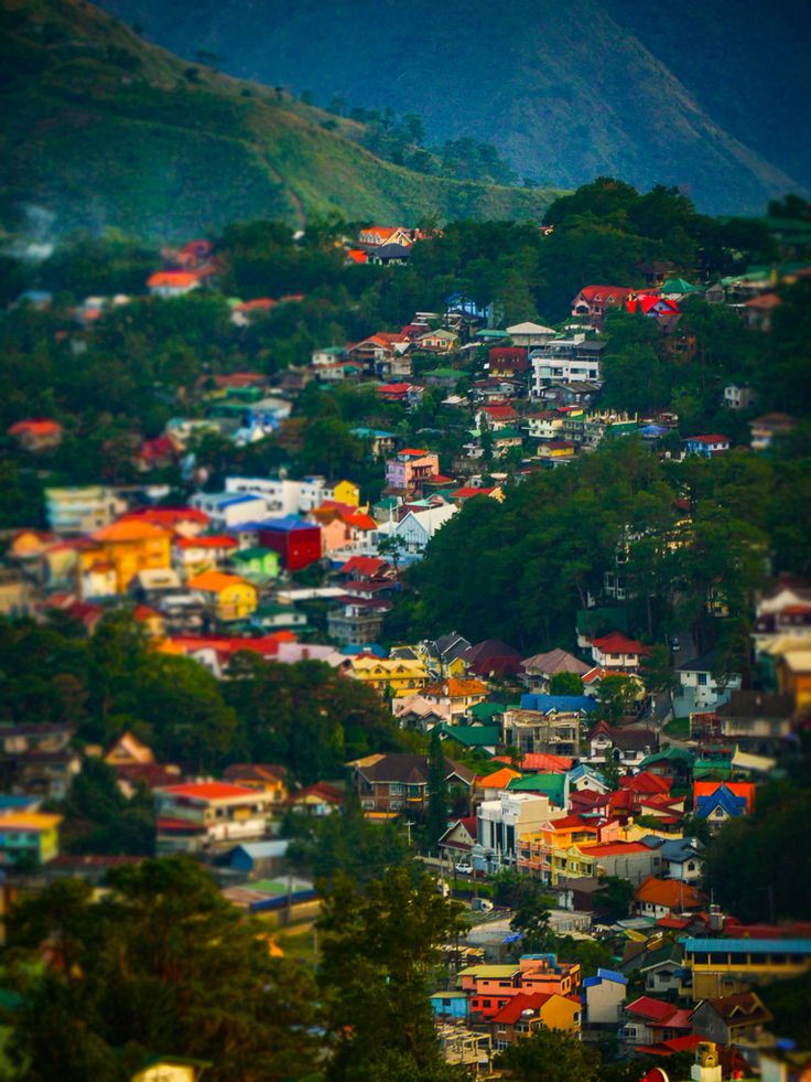 Baguio is a city and hill station located at an altitude of 1450 meters above sea level (4760 feet) on the Cordillera Administrative Region. Due to its cool mountain weather, Baguio is considered the summer capital of the Philippines. In October 31, 2017, it became part of UNESCO's Creative Cities Network, the first city in the Philippines to join the list.  - #Wikitravel  #Philippines #Mountains #Beautiful #Baguio #Travel #Inspiration #YBCtheWorld