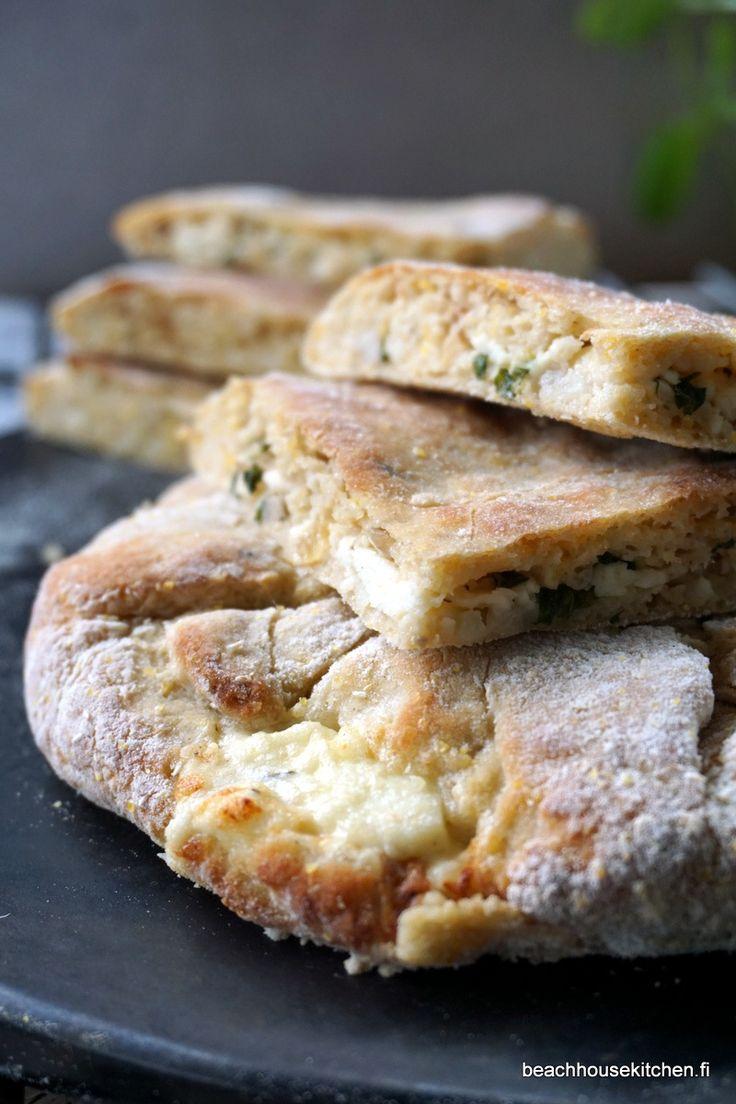 Halloumitaskut paras gluteeniton Urtekram -leivonnainen kisaan!