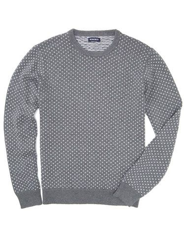 25 Things Every Man Should Have This Spring: The Gray Crewneck Sweater