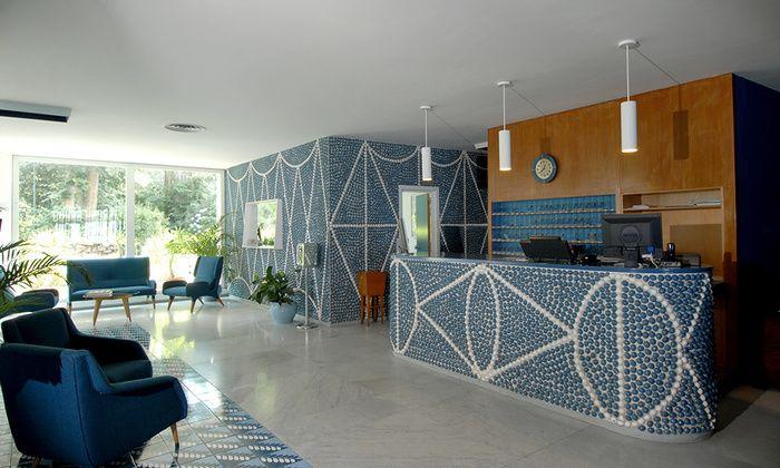 Une nuit dans un hotel d'architecte : Le Parco dei Principi de Gio Ponti à Sorrente