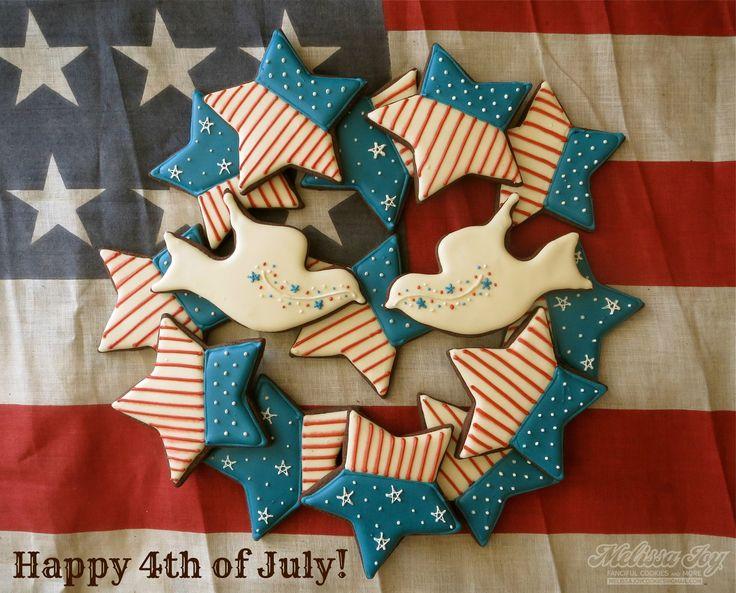 cute 4th of july cookies