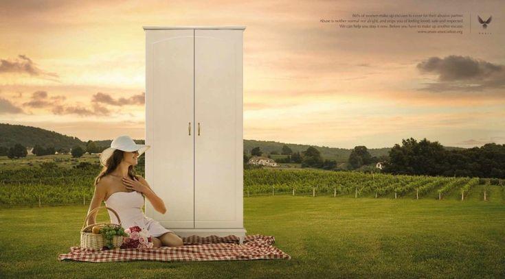 «Фонарные столбы» и «дверные ручки» в социальной рекламе о домашнем насилии