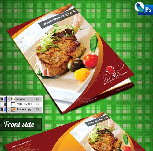 8 best Werbung images on Pinterest Advertising, Flyer design and - food brochure