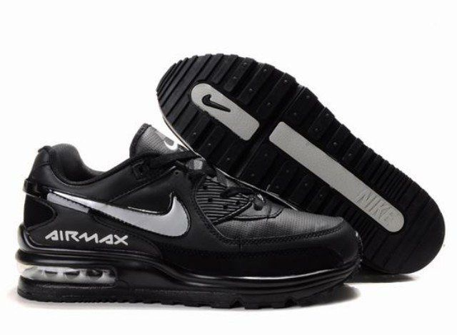 r01mi Homme Nike Air Max LTD Noir/Silver/B En ligne Acheter France