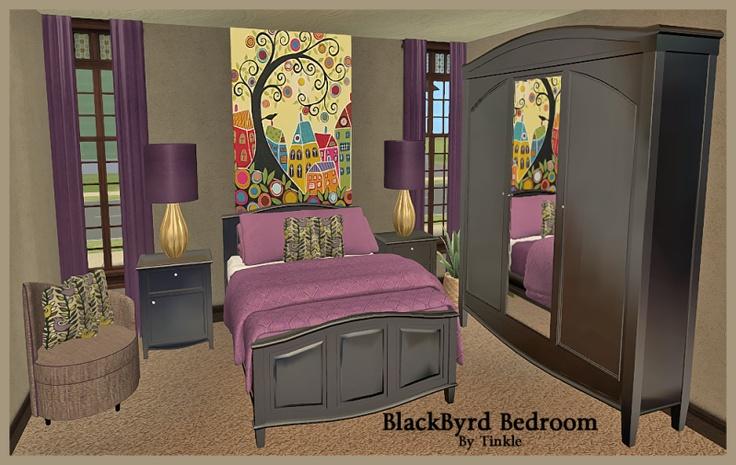 sims2 blackbyrd bedroom downloads blackpearlsims