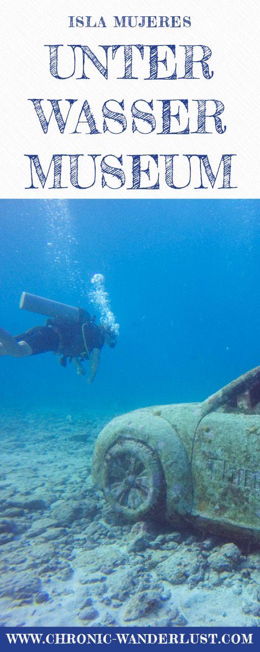 Das Unterwassermuseum MUSA erstreckt sich zwischen Isla Mujeres und Cancun. Tauchen oder Schnorcheln ist ein bisschen wie ein Besuch in Atlantis!