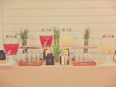 Saftbars für Ihre Hochzeitsfeier – Originell und kreativ