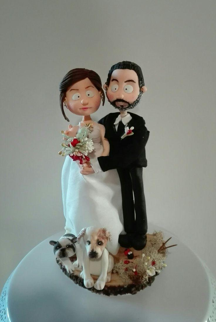#quisquilie #pastadimais #caketopper #wedding