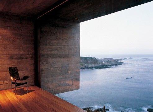 sea view : architecture : smiljan radic : chile