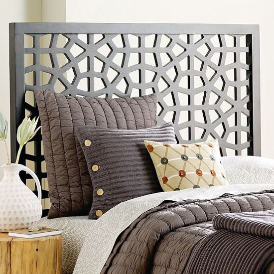 Global Flavour: Moroccan-inspired headboard from West Elm: From Style at Home