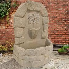 outdoor wall fountains this cellar basically garden etc using and jast setting