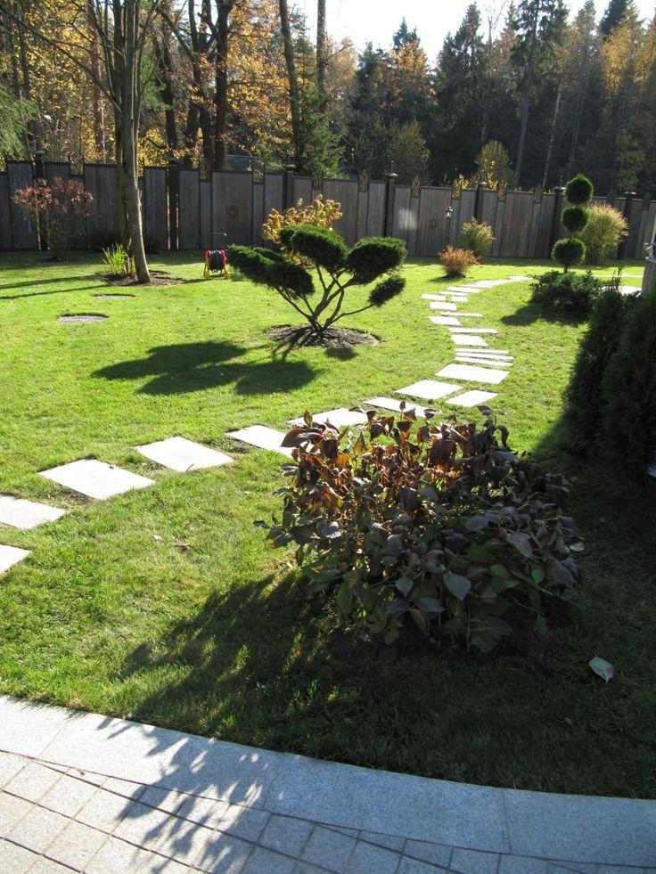 Стилистика японского сада очень популярна.