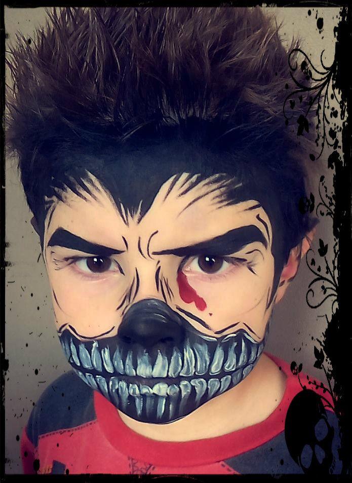 face painting comics