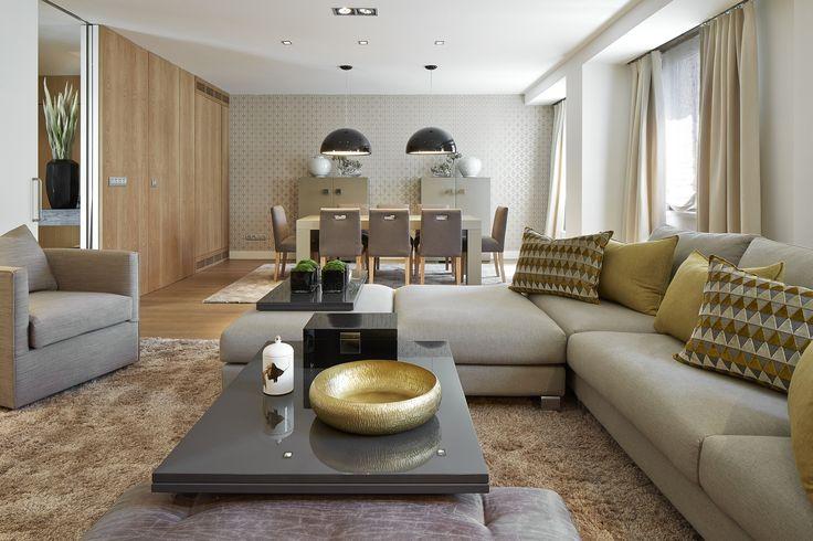 Decoracion Salon Comedor ~ Molins Interiors  arquitectura interior  sal?n  comedor  sof?