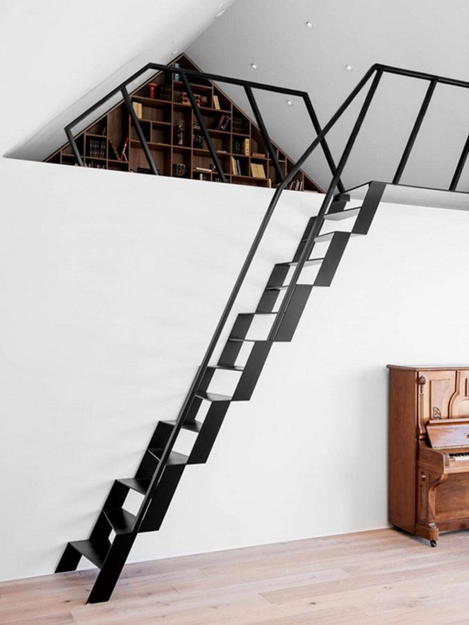 A New Collection Of Interior Designs Featuring 18 Exciting Scandinavian  Staircase Designs For Your Home.