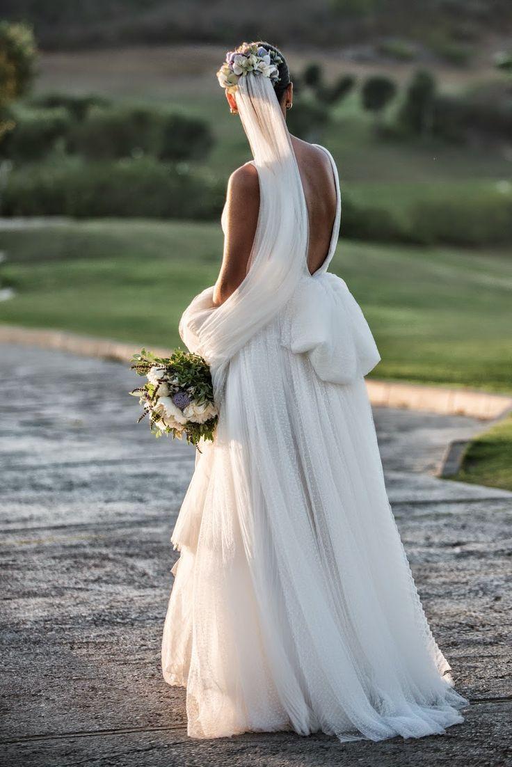 Los vestidos de novia de Teresa Palazuelo son exclusivos - Foto: Jaime Boira