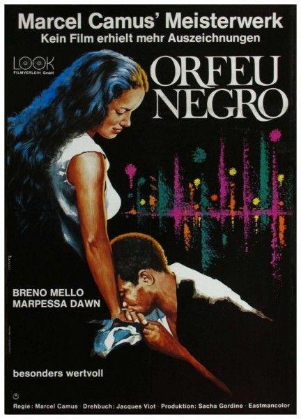 «Черный Орфей» Бразилия, Франция, Италия, 1959. Реж. Марсель Камю