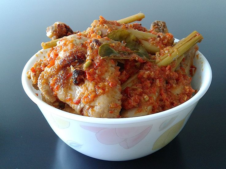 Ayam Rica-rica (Chicken with chili sauce) - Manado, Sulawesi