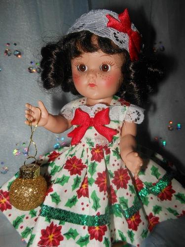 Christmas dress,ornament and headband for Ginny, Muffy ...