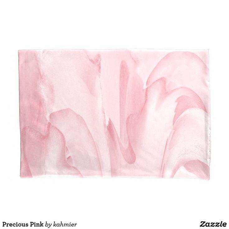 Precious Pink Pillow Case