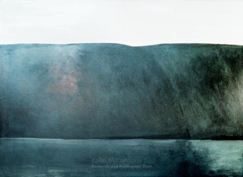 Colin McCahon, North Otago Landscape 6, 1967
