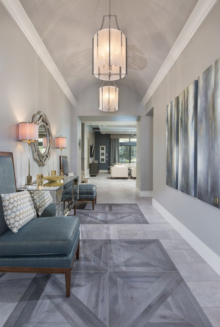 We've never seen a hallway look so good. Legacy Custom Built Homes features custom flooring and design options to make your home special.