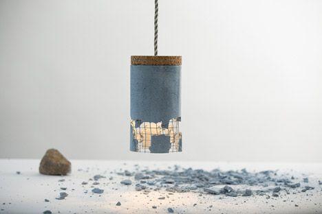 Slash Lamp by Dragos Motica
