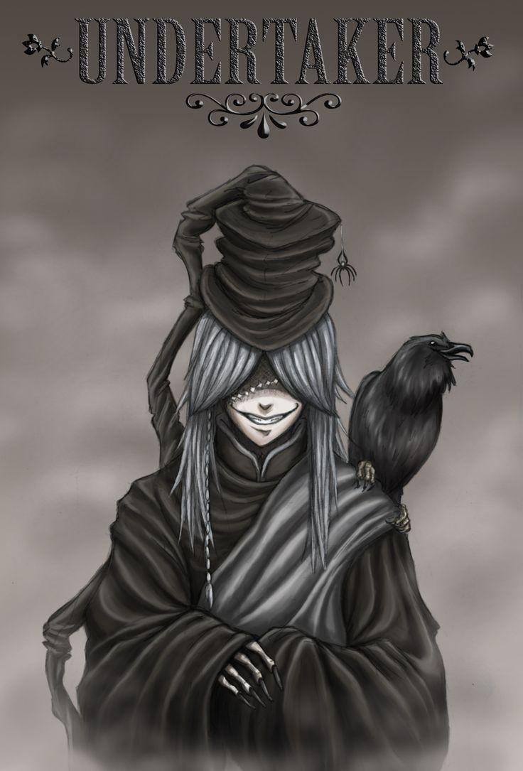 Black Butler, Undertaker...one of my favorite characters