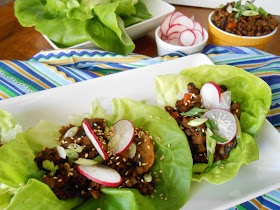 flora foodie: Hoisin Lettuce Wraps   eats   Pinterest   Lettuce Wraps ...