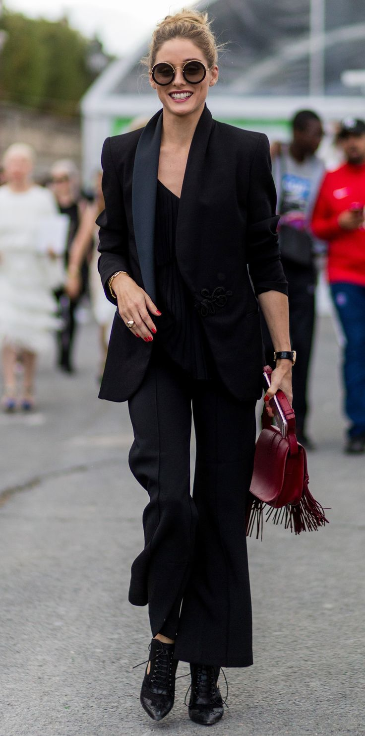 3439 best olivia palermo images on pinterest | black, blouses and