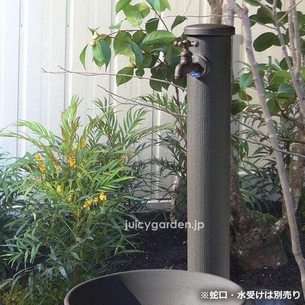 【ガーデン立水栓 和風】陶器の立水栓 角<配管入り> 郵便ポスト・デザイン表札通販|ジューシーガーデン【公式】