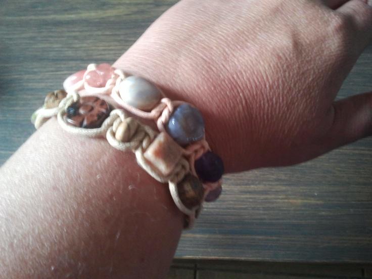 Dubbele rij armbanden