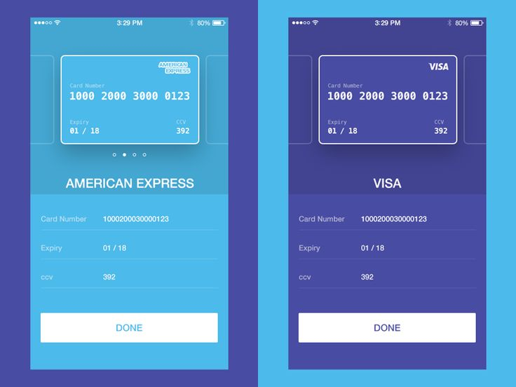 Credit Card Checkout UI Concept