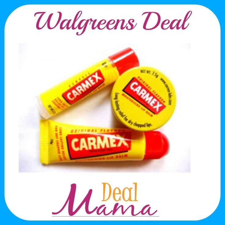 Your lips will love this deal!  https://dealmama.com/2018/02/walgreens-carmex-daily-care-lip-balm-0-89/