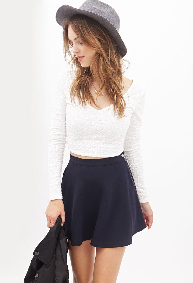 skater skirt + hat