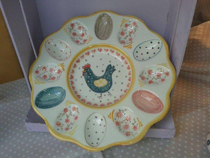 Piatto porta uova