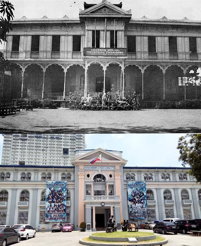 Adamson University Location San Marcelino St Ermita Manila Philippines Wayback 1932 Asic Was Founded Filipino Architecture Manila Philippines Philippines