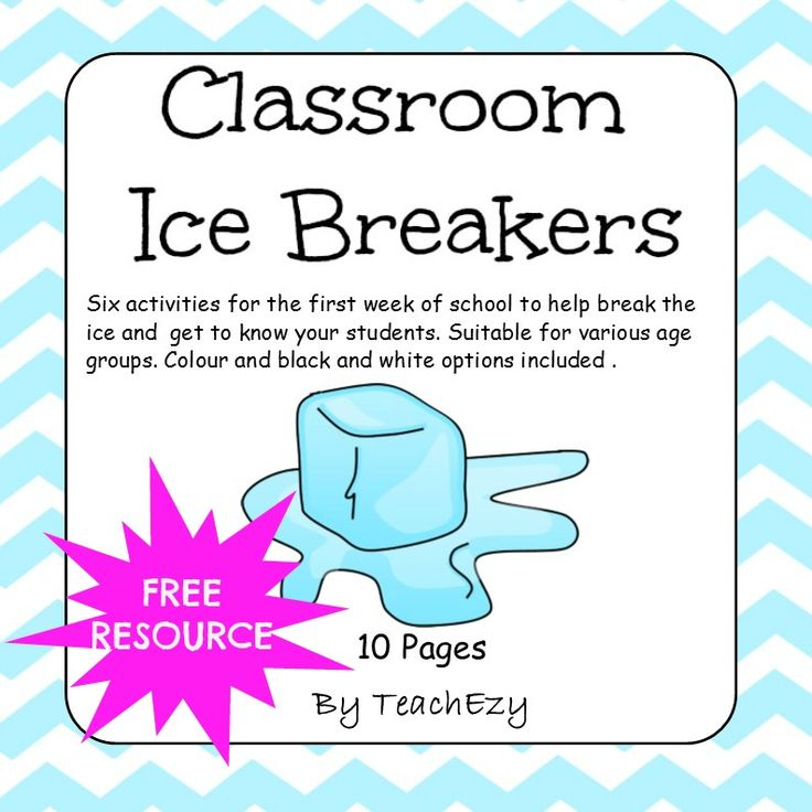 Classroom Ice Breakers cover FREE
