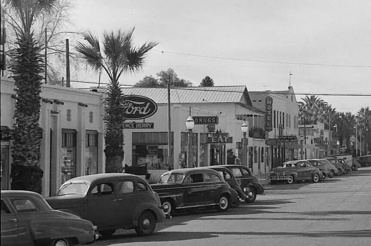 My Home Town Hemet California In The 1940s Remember