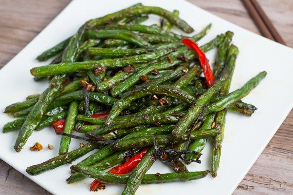 This Szechuan Style Green Beans recipe is easy to make. The green ...