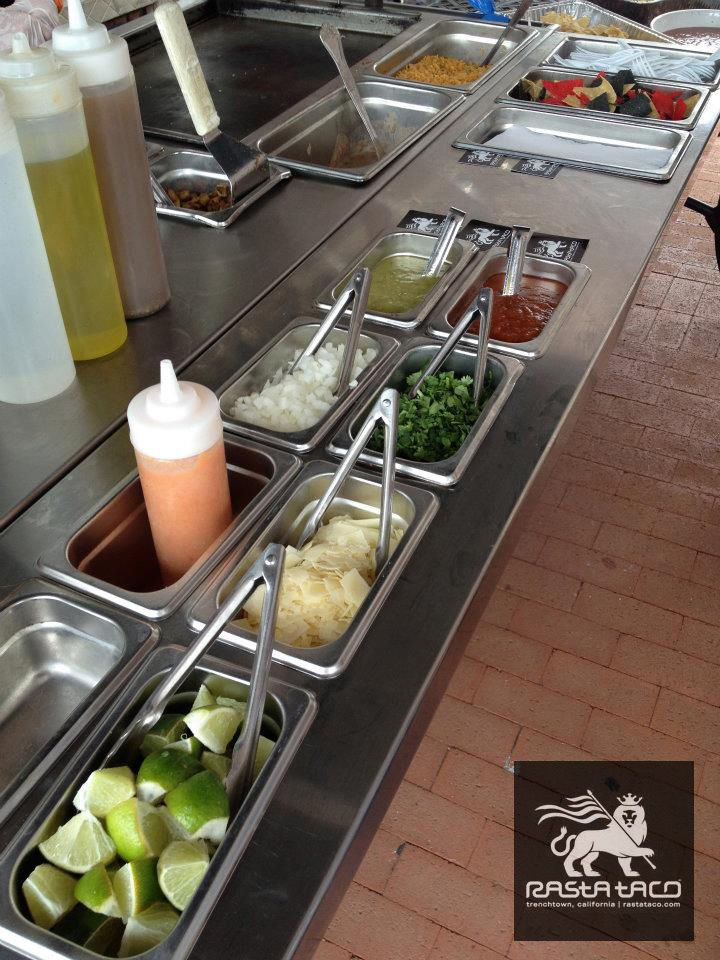 Taco Cart Catering with all the right toppings!