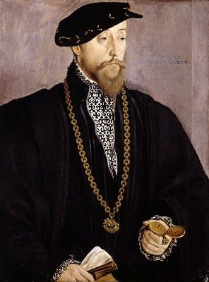 Men's Portraits of the 16th Century Hans Mielich. Portrait of Pankraz von Freyberg zu Hohenaschau (1508-1565)