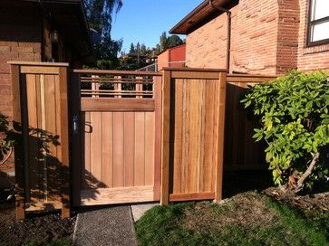 9 best craftsman gates images on pinterest | garden gate