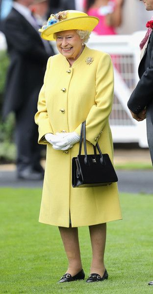 Queen Elizabeth II arrives at Royal Ascot 2016 at Ascot Racecourse on June 14, 2016 in Ascot, England.