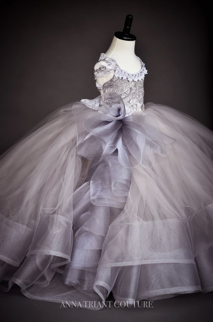 "Anna Triant Couture | Products | Flower Girl Dress | ""Giovanna"" Dress"