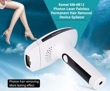 US $50.81 Kemei Female Epilator Lady Photon Laser Facial Body Hair Removal Depilatory Shaver Razor Device Skin Care Tool for Women EU Plug. Aliexpress product