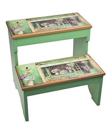 Look what I found on #zulily! French Boutique Step Stool #zulilyfinds