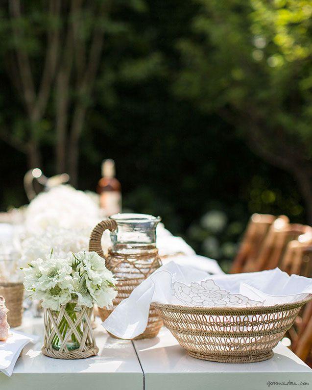 Aerin, Aerin Lauder, Hamptons, Garden Party, Outdoor Interiors, Summer Dining / Garance Doré
