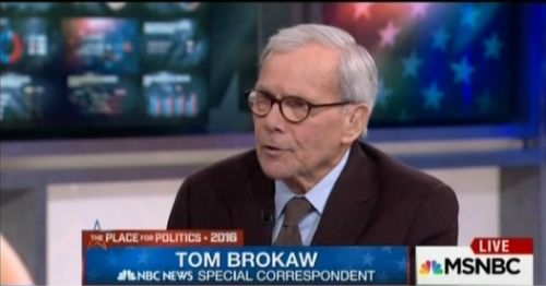 On MSNBC, Tom Brokaw Says Media Outlets Like Breitbart News Are... #MSNBC: On MSNBC, Tom Brokaw Says Media Outlets Like Breitbart… #MSNBC