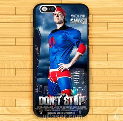 Ashton Irwin Dont stop 5 seconds of summer iPhone Cases Case